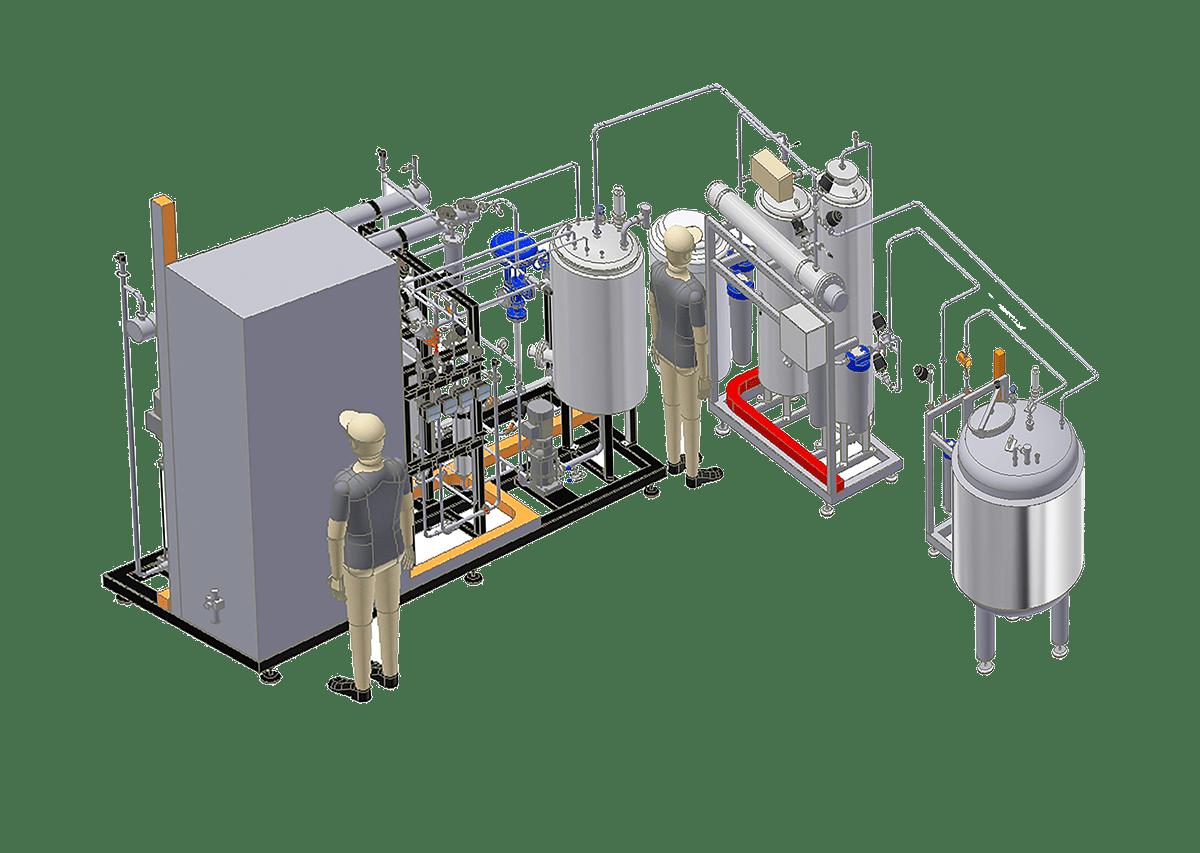Reverse Osmosis system - CROS SIN EDI 500 + PRT